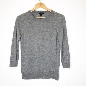 J Crew wool crew neck sweater